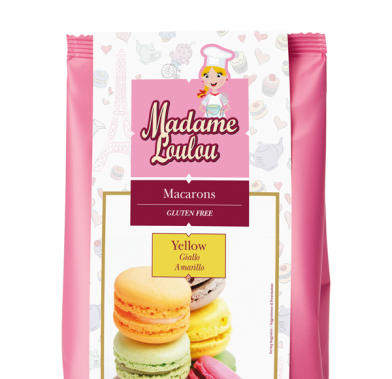 Premix pentru Macarons de Paris galben 300g ML5161-6 MADAM