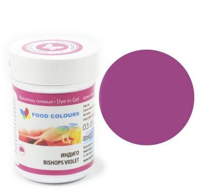 Colorant alimentar in gel violet-indigo 35g WSG-044  FC