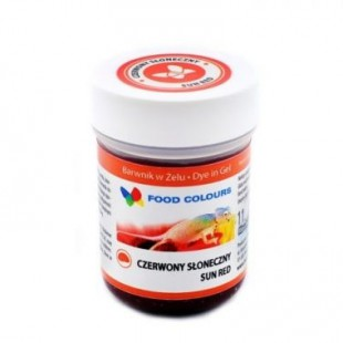 Colorant alimentar in gel rosu 35g WSG-028 FC