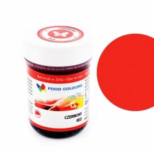 Colorant alimentar in gel rosu 35g WSG-024 FC