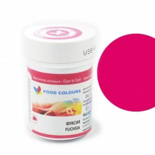 Colorant alimentar in gel fuksia 35g WSG-038 FC