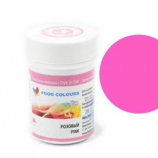 Colorant alimentar in gel  roz 35g WSG-036 FC