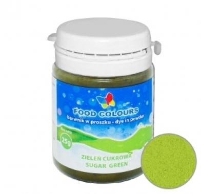 Colorant alimentar praf 25g verde WS-P-057 FC