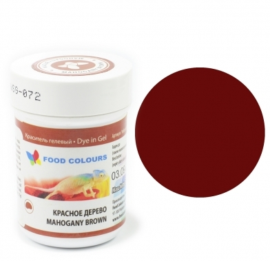 Colorant alimentar in gel  mahagony 35g WSG-072 FC