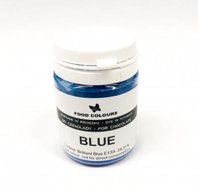 Colorant alimentar praf liposolubil 20g albastru WS-P-220 FC