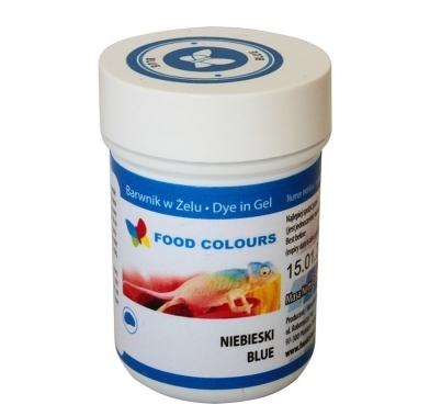 Colorant alimentar in gel albastru 35g WSG-064  FC