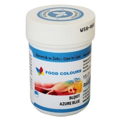 Colorant alimentar in gel azur 35g WSG-060 FC