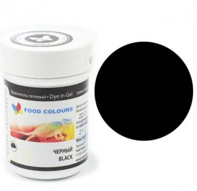 Colorant alimentar in gel negru 35g WSG-080 FC
