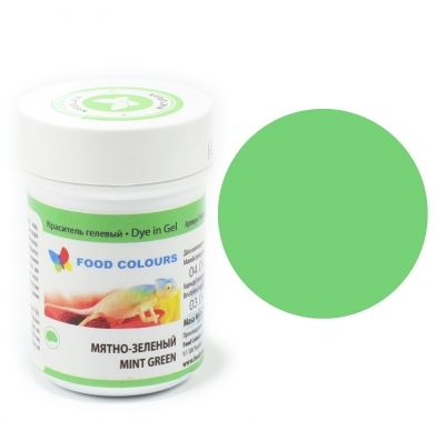 Colorant alimentar in gel menta verde 35g WSG-052 FC
