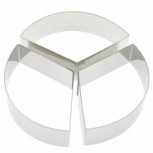 Forma cerc pentru copt din inox 32H4X22S
