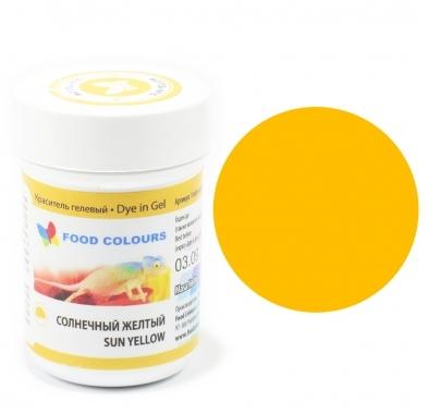 Colorant alimentar in gel galben de soare 35g WSG-004 FC