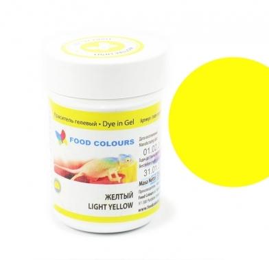 Colorant alimentar in gel galben deschis 35g WSG-001 FC