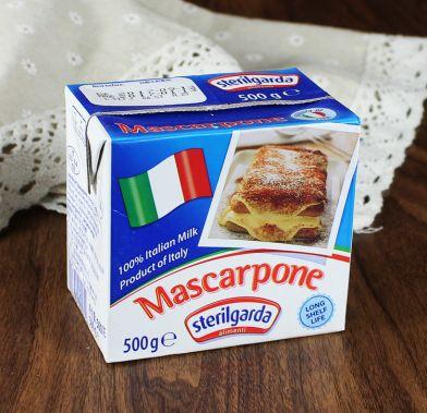 Crema Mascarpone UHT 500g STERILGARDA