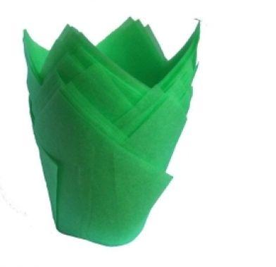 Forma din hirtie lalea pu muffin 160/50 VERDE 716050PV ALF