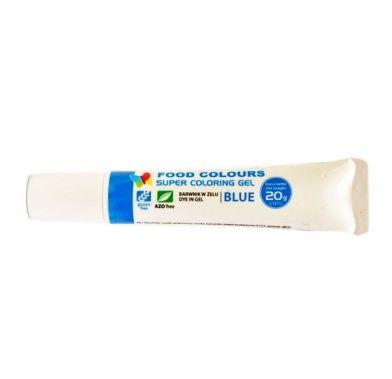 Colorant alimentar in gel albastru azur 20g WSG-T07 FC