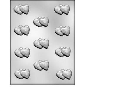 Spatula din plastic inime pentru ciocolata 90-1015