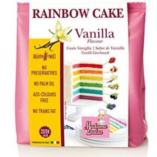 Premix RAINBOW CAKE MIX VANILLA 100g ML8051 MADAM