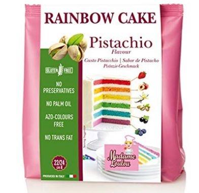 Premix RAINBOW CAKE MIX PISTACHO 100g ML8052 MADAM