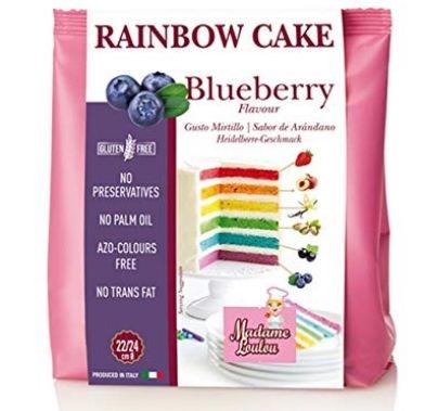 Premix RAINBOW CAKE BLUBERRY 100g ML8054 MADAM