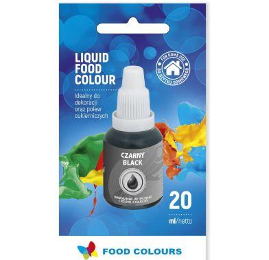 Colorant lichid alimentar 20g negru WS-La23  FC