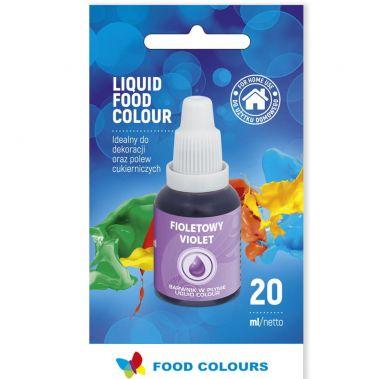 Colorant lichid alimentar 20g violet WS-La11  FC