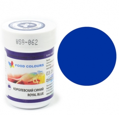 Colorant alimentar in gel albastru royal 35g WSG-062 FC