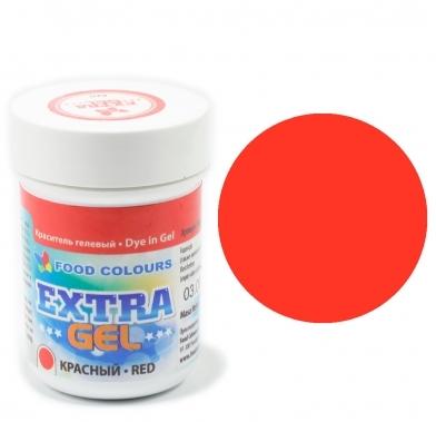 Colorant EXTRA gel 35g ROSU WSG-E-20 FC