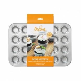 Forma de copt mini muffin 24 cups 38,5 x 26 x 2 H cm 0070035 DER