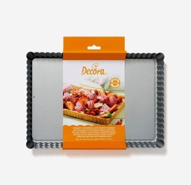 Non-stick tart pan 32x22x3.5   cm 0070027 DER