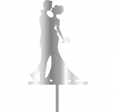 Topper - Bride&Groom 196x100 mm 14057 CSL