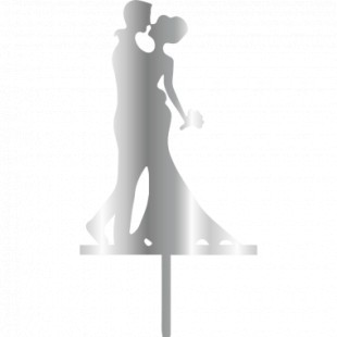 Topper - Bride&Groom 196x100 mm 14057 CSL