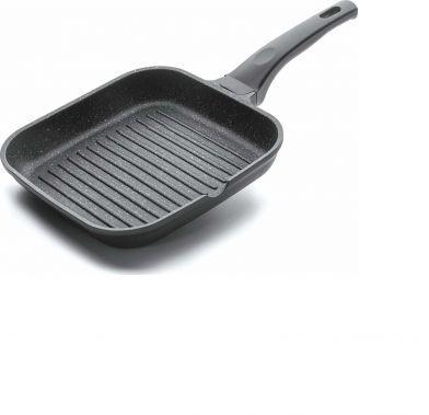 Tigaie grill patrata ECO-PIEDRA 28x28 cm 24129_LAC