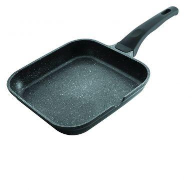 Tigaie grill patrata neteda ECO-PIEDRA 28x28 cm 24127_LAC