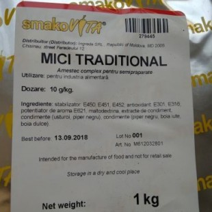 Mici traditional