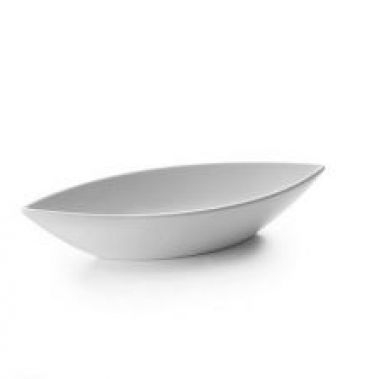 Platou oval alb CLASIC 32x12x6 cm 63557_LAC