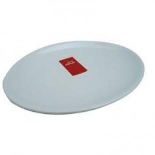 Platou oval alb 28x20x2.4 cm   62754_LAC