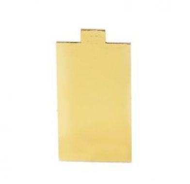 Platou auriu dreptunghiular din carton 12x5,5 cm 3CA2312551_BND
