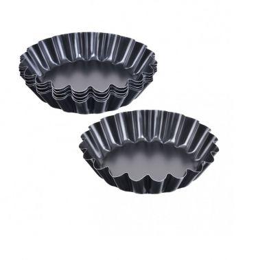 """Forma p/u muffin 110 mm """"non-stick"""" neagra (6 buc in set) 990-20 SNB"""