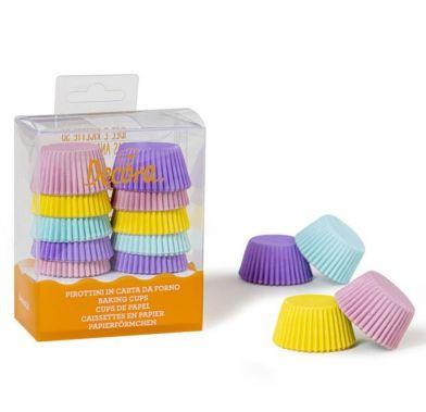 Forma din hirtie mini muffin pastello 32 x 22 mm 0339744 DER