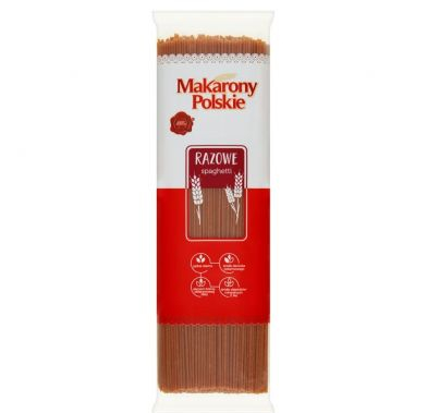 Paste fainoase SPAGHETTI INTEGRALE 400g 24 buc/cut MPL