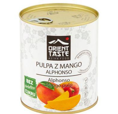 Pulpa de mango fara zahar  ALPHONSO 850 ml GT