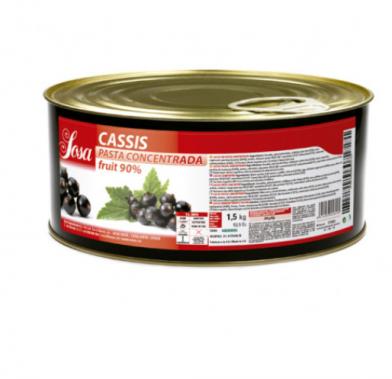 Pasta de coacaza neagra 1.5 kg 44600005 SOSA