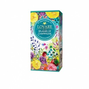 Ceai LOVARE ORGANIC Splashes of champagne  24 pak_SOLI