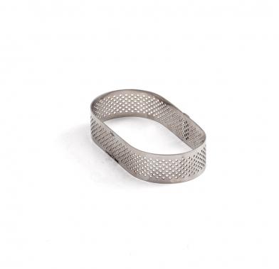 Forma ovala micro-perforata din inox 10 0064070 DER