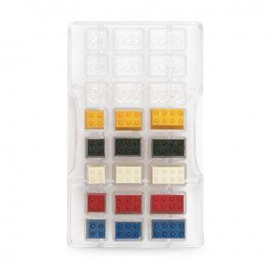 Forma din policarbonat BRICKS 24 cavitati 200c120x22 H 0050143 DER