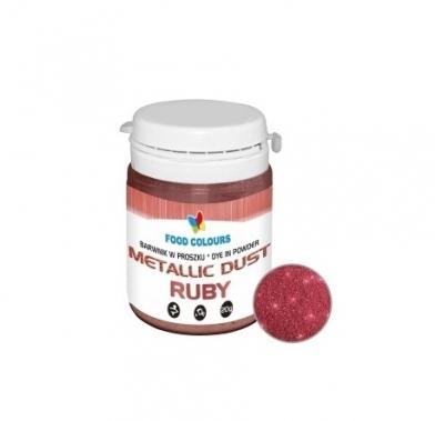 Colorant alimentar 20g rubin praf metalic WS-P-141 FC