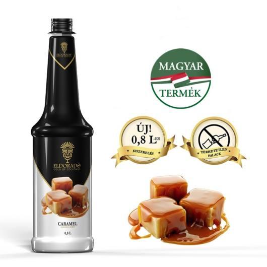Sirop Toffee/Caramel 0,8l ELD