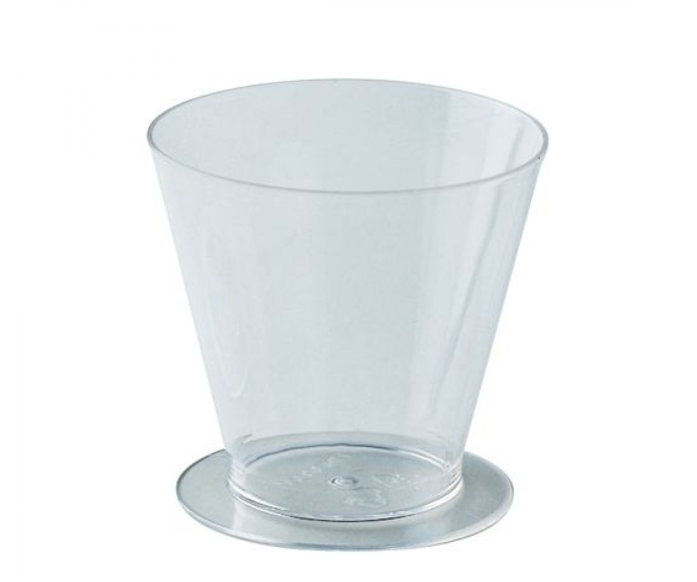 Pahar din plastic rotund 120ml PMOCO002  (100 buc)
