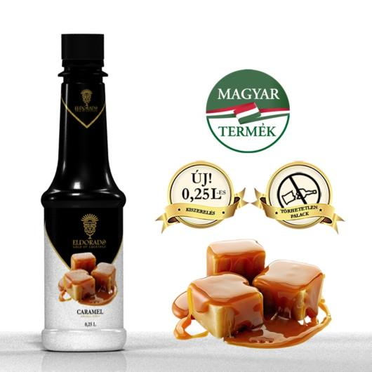 Sirop Toffee/Caramel 0,25l ELD