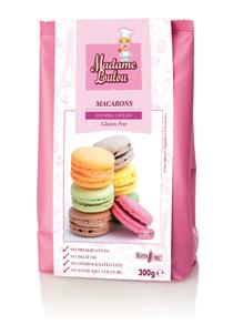 Premix pentru Macarons de Paris fuchsia 300g ML5162-6 MADAM